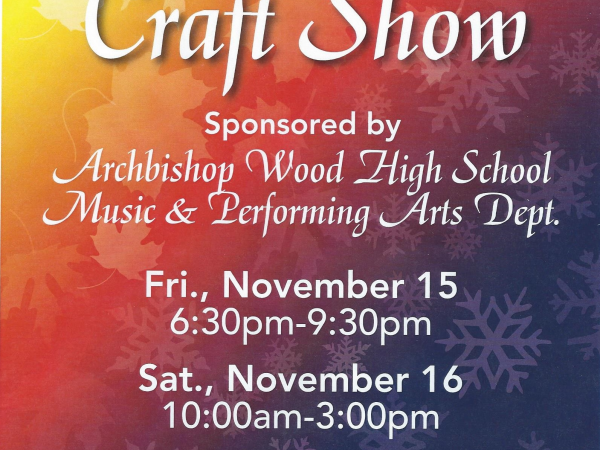fall holiday craft show at archbishop wood warminster