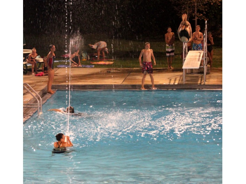 cumberland pool water show set for tuesday patch