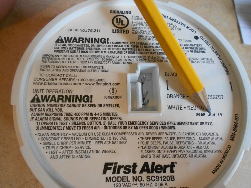 Fire alarm system besides Btodbtod3034 besides C21va2UgZGV0ZWN0b3I likewise Ready To Spring Forward Time Change Sunday Is On The Way additionally 12 Volt 2   Power Supply Transformer. on old alarm carbon monoxide detectors