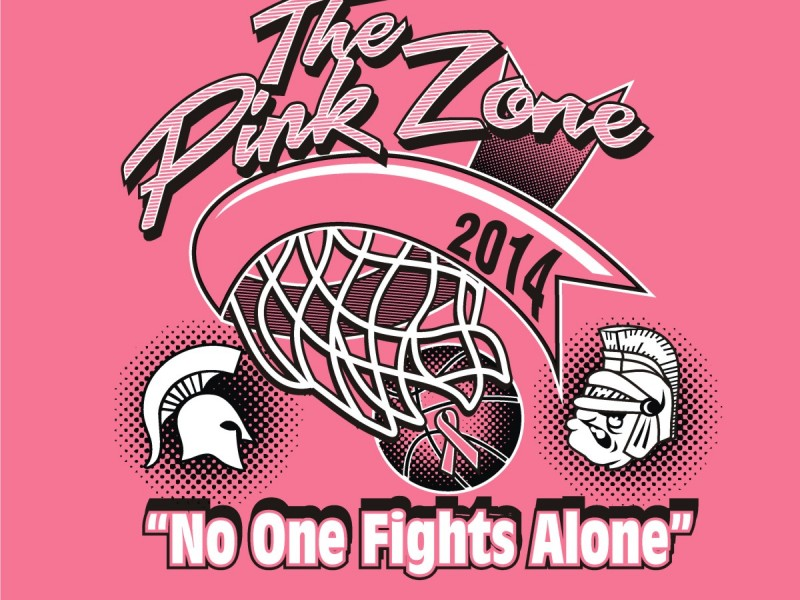 Pink Out Game to Honor Spartan