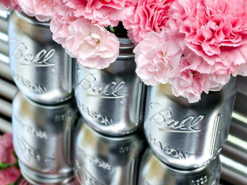 mason jar centerpieces   crystal lake il patch