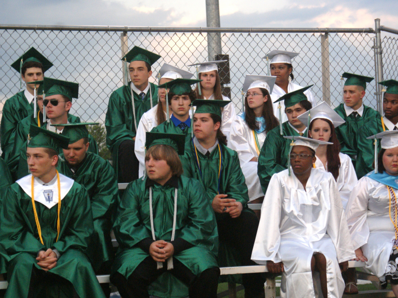 Enfield High School Says Goodbye To 148 Graduates