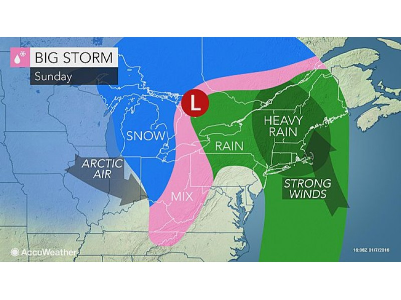 Monday forecast: Winter storm warning begins soon with ice, sleet coming