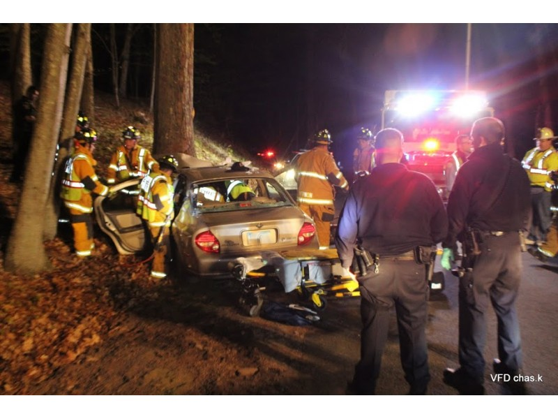 Car hits tree near reservoir road in vernon patch for Ct fish and game