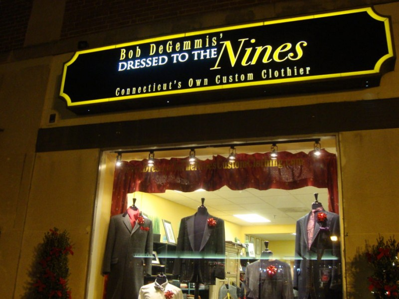 Custom clothier shop opens in west hartford center patch for Custom t shirts manchester ct