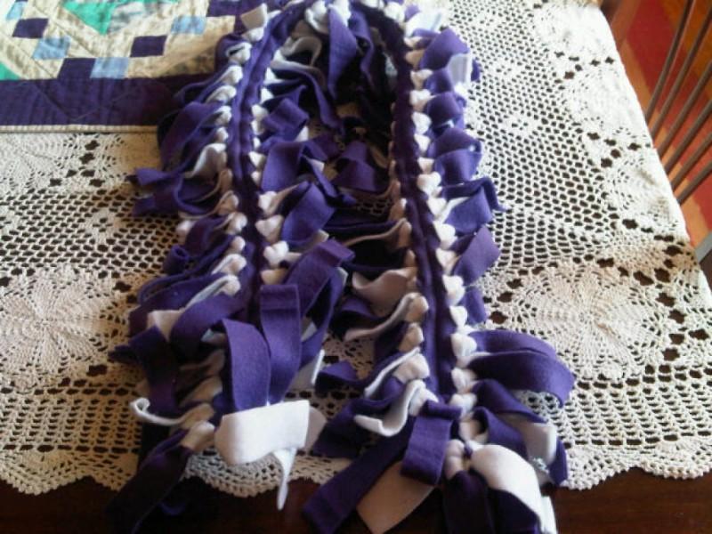 No Sew Fleece Scarves North Branford Ct Patch