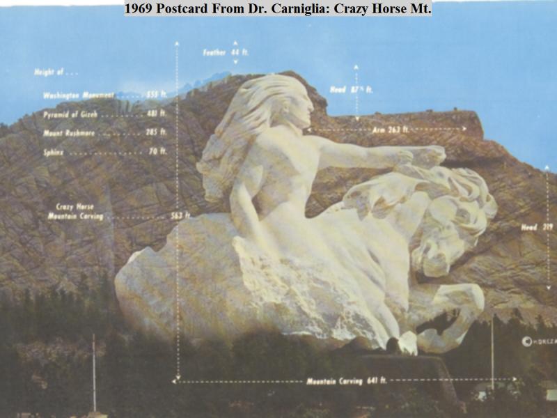 Sculptor of crazy horse mountain the connecticut