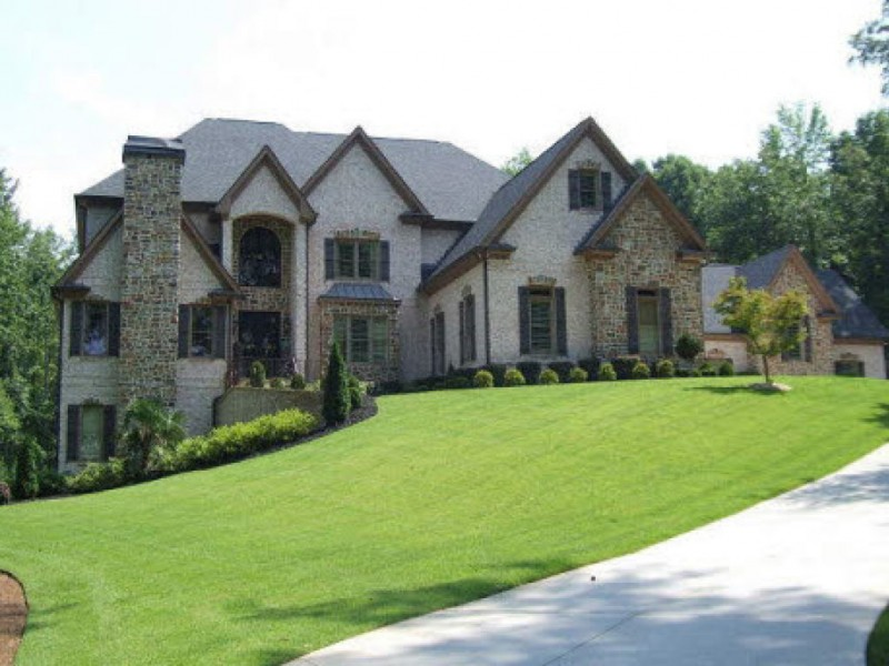 Open houses million dollar homes patch for Home builders in douglasville ga