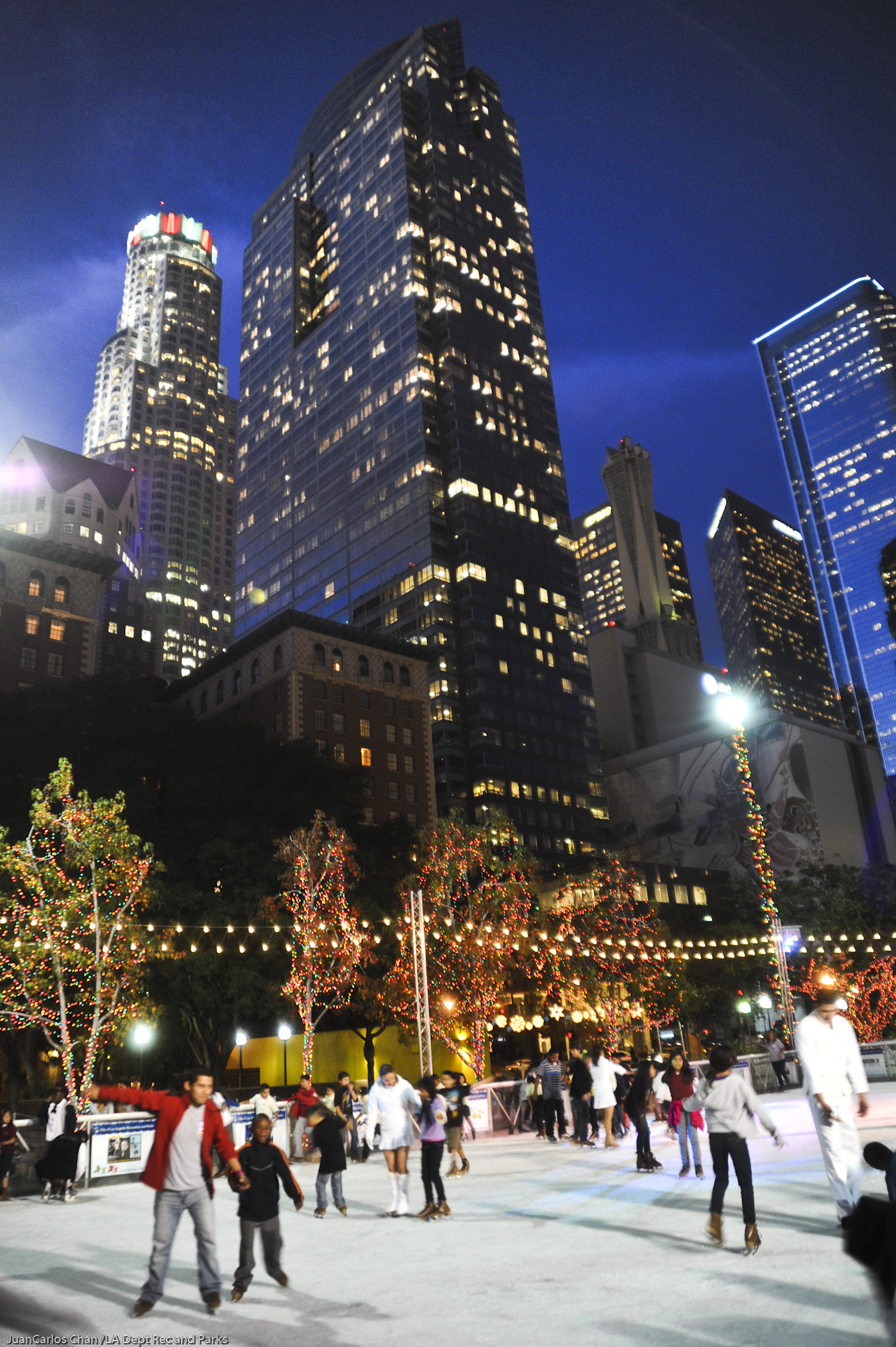 Biggest Backyard Ice Rink : Come get your glide on this holiday season at HOLIDAY ICE RINK