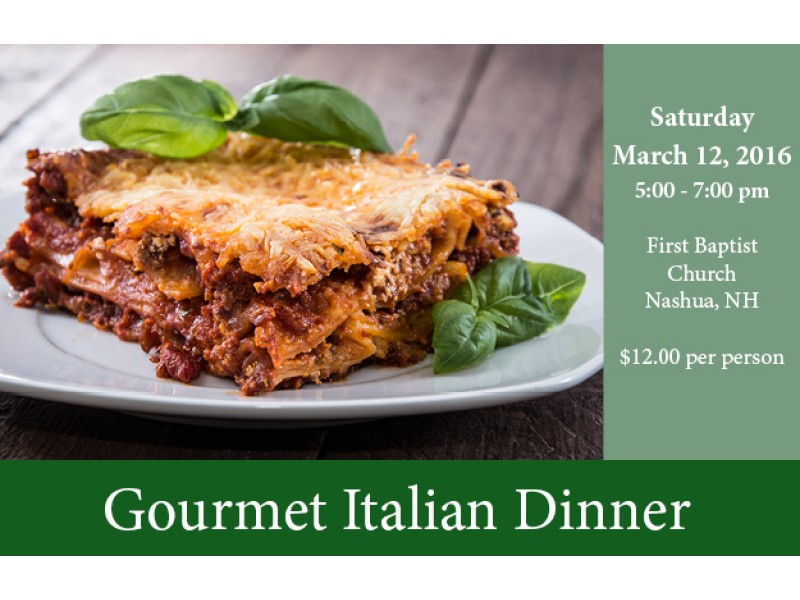 Gourmet Lasagna Dinner Patch