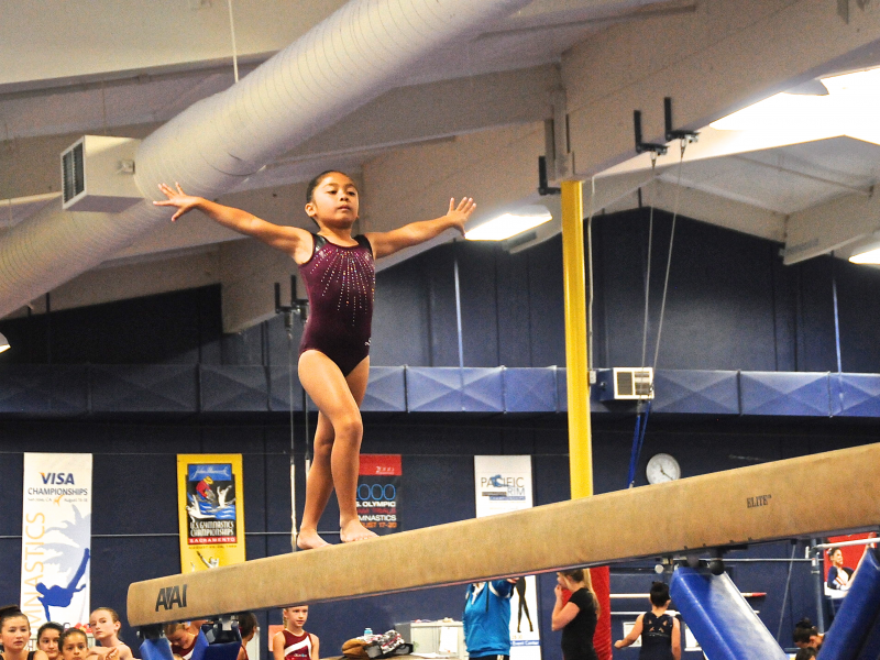novato classic gymnastics meet
