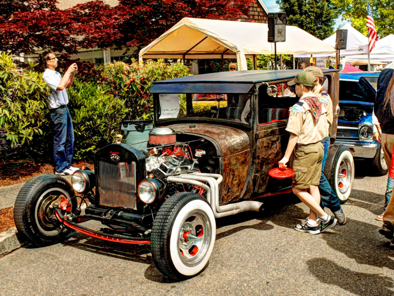 Mercer Island Classic Car Show