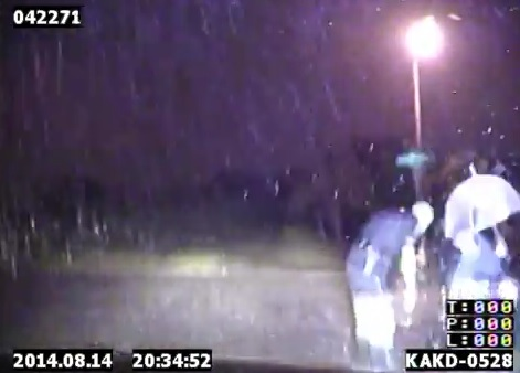 WATCH: Cop Braves Lightning to Save Man in Wheelchair