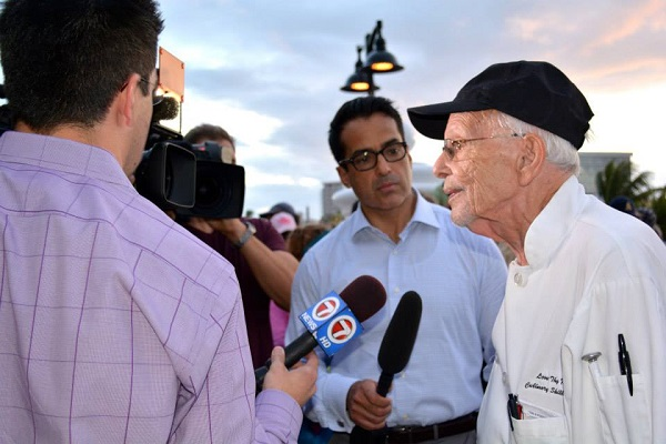 90-Year-Old Man Arrested Again for Feeding the Homeless