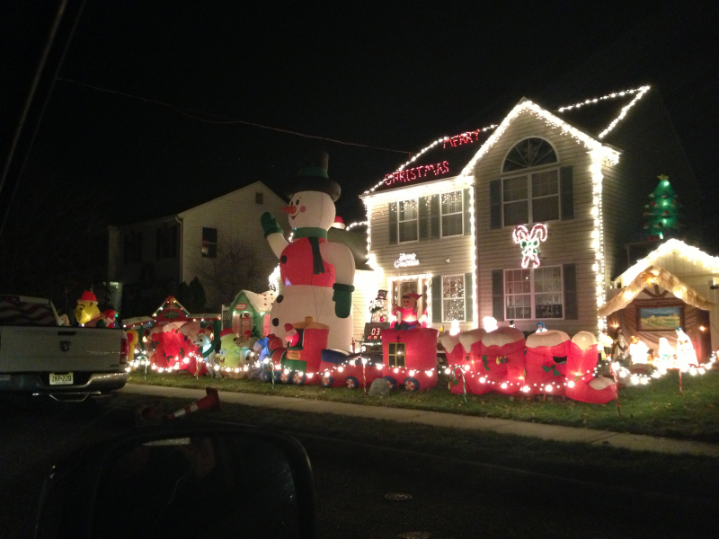 Map: Great Holiday Displays Around Brick - Brick, NJ Patch