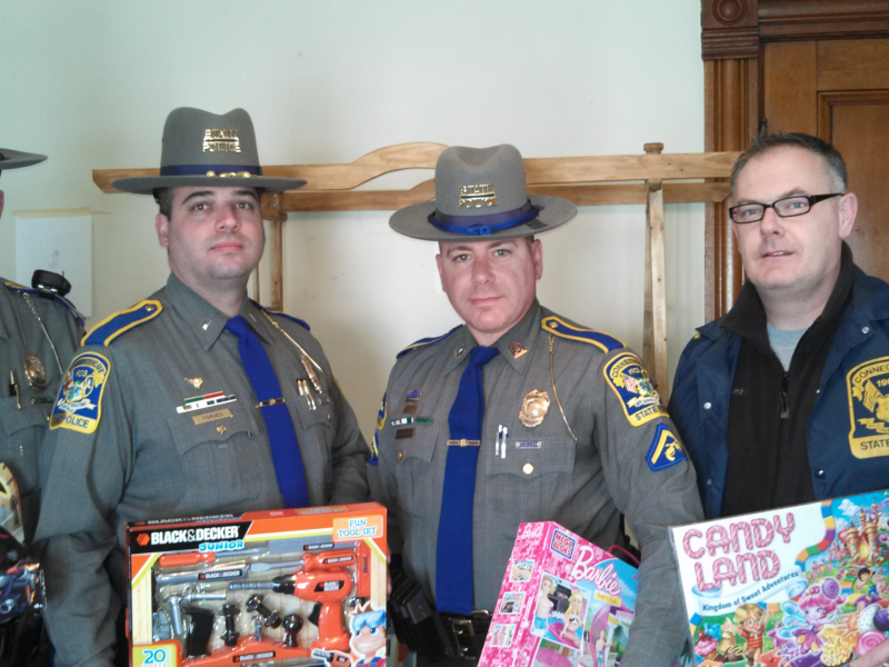 State Police Troopers Christmas Toy Drive A Resounding