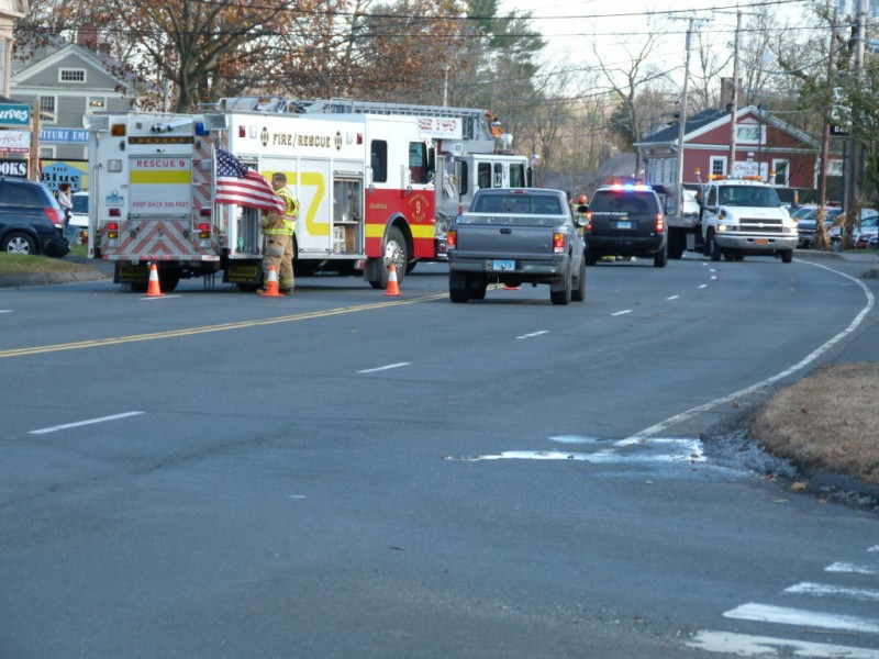 Three Car Accident Sends One To Hospital Closes Route 44