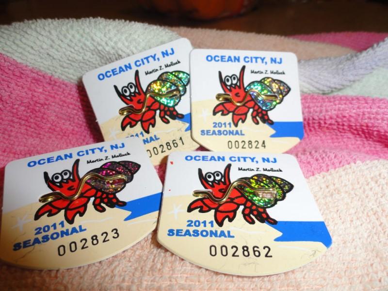 Ocean City Nj Beach Tags Where To Buy