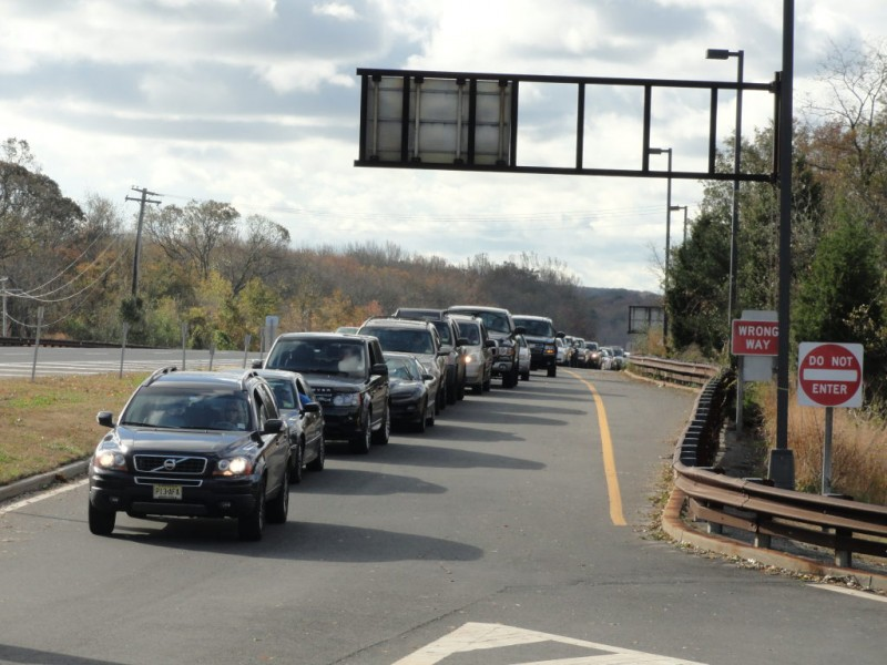 No gas station closed at parkway 39 s monmouth service area - Garden state parkway gas stations ...