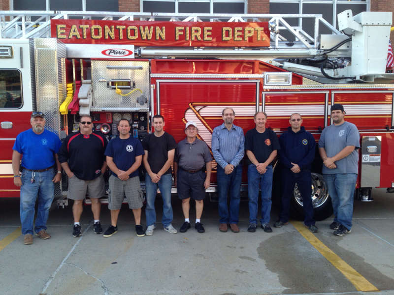 Eatontown fire department gets its new truck long branch for Motor vehicle nj freehold