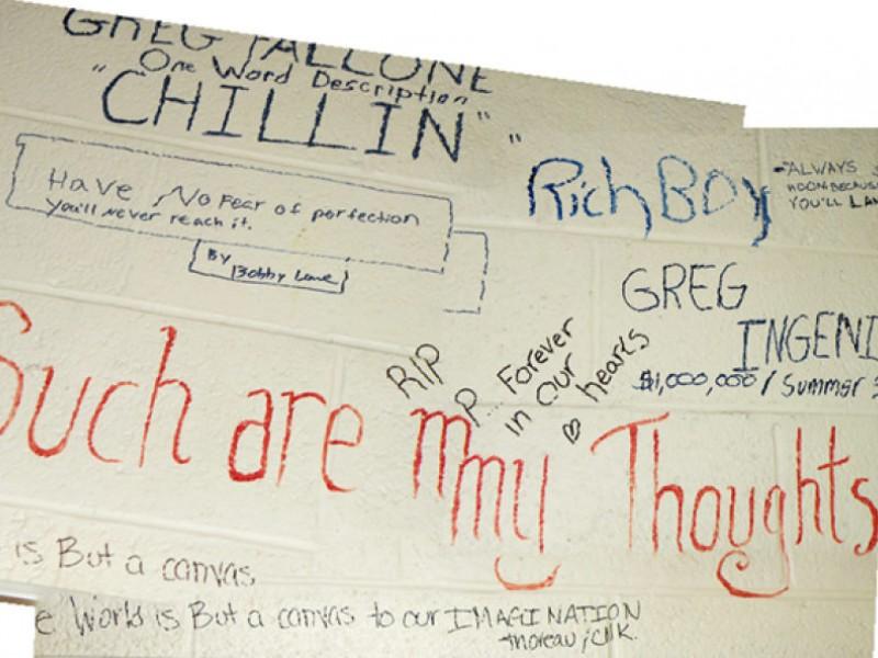 digital memorial of thom williams 39 classroom walls