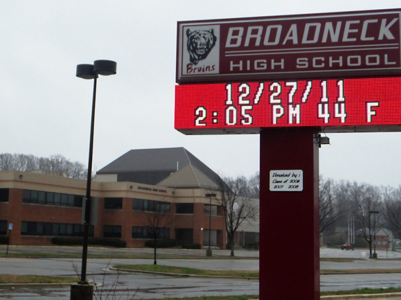 Broadneck High School Honor Roll For The 4th Quarter