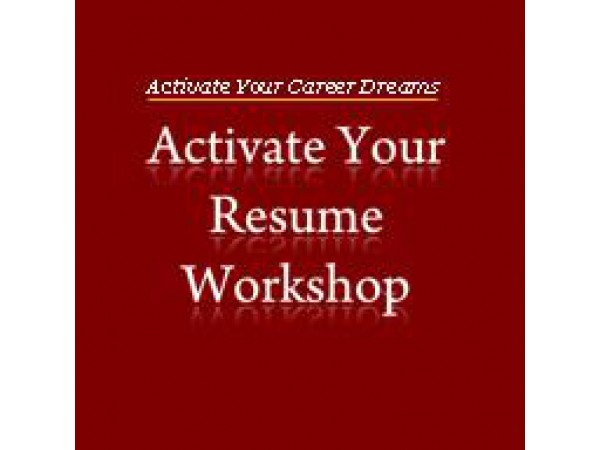 resume workshop activate your resume alameda ca patch