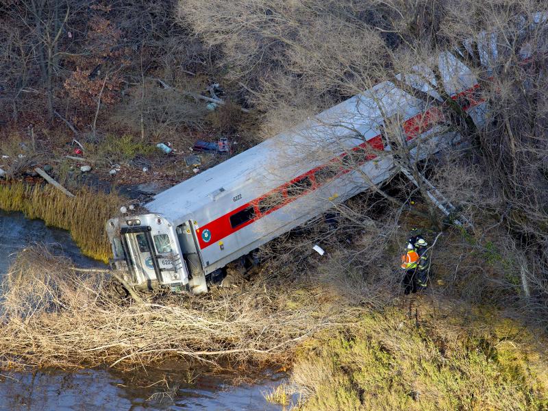 Bronx River Car Crash