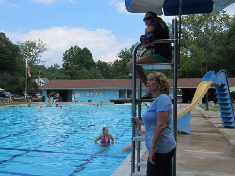 Who S Behind The Scenes Barbara Bates At Five Oaks Swim Club Catonsville Md Patch