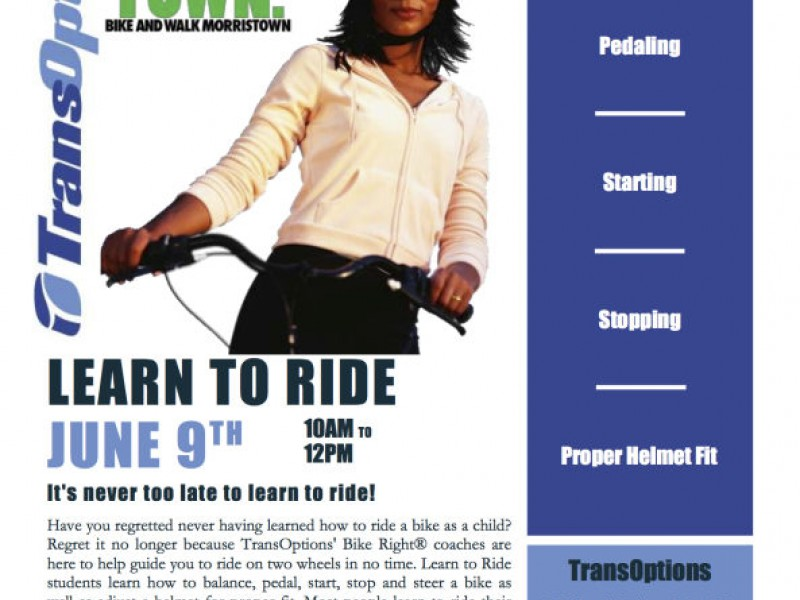 Learn to ride a bike as an adult