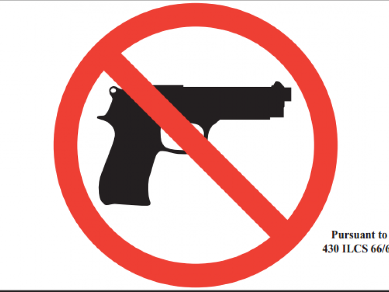 Can Private Property Ban Guns
