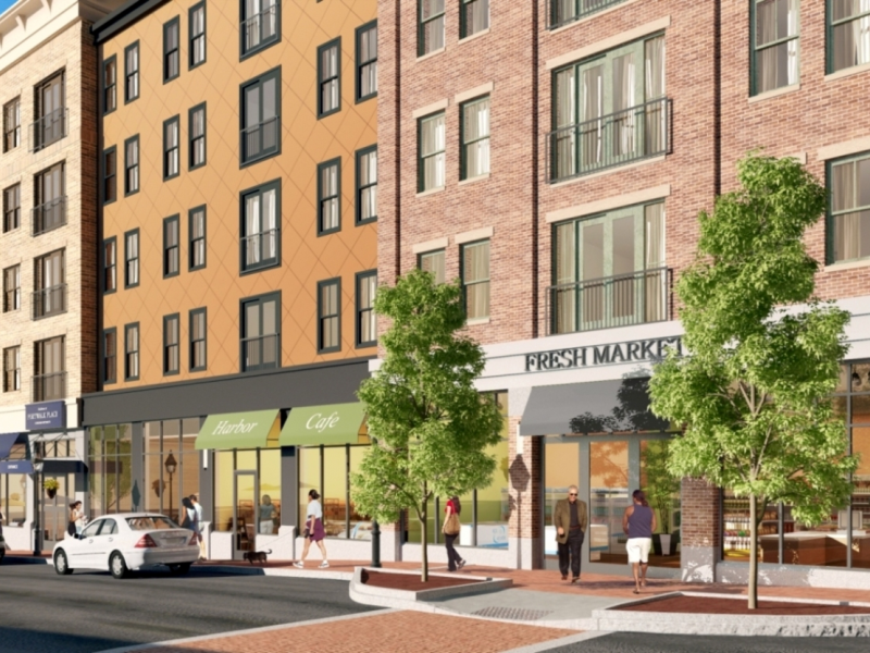 Portwalk construction will add 113 luxury apartments patch for New construction in nh