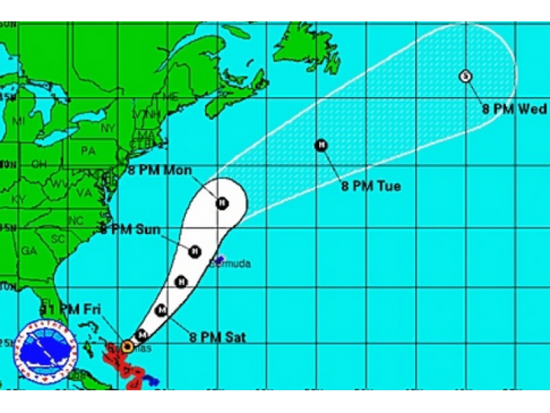 US citizens missing on cargo ship in hurricane