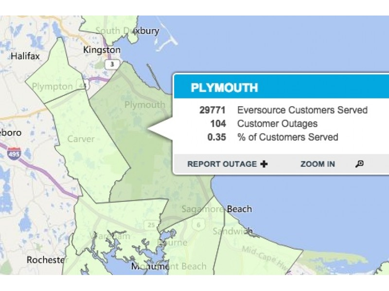 Power Restored for Most of Plymouth: Update | Patch