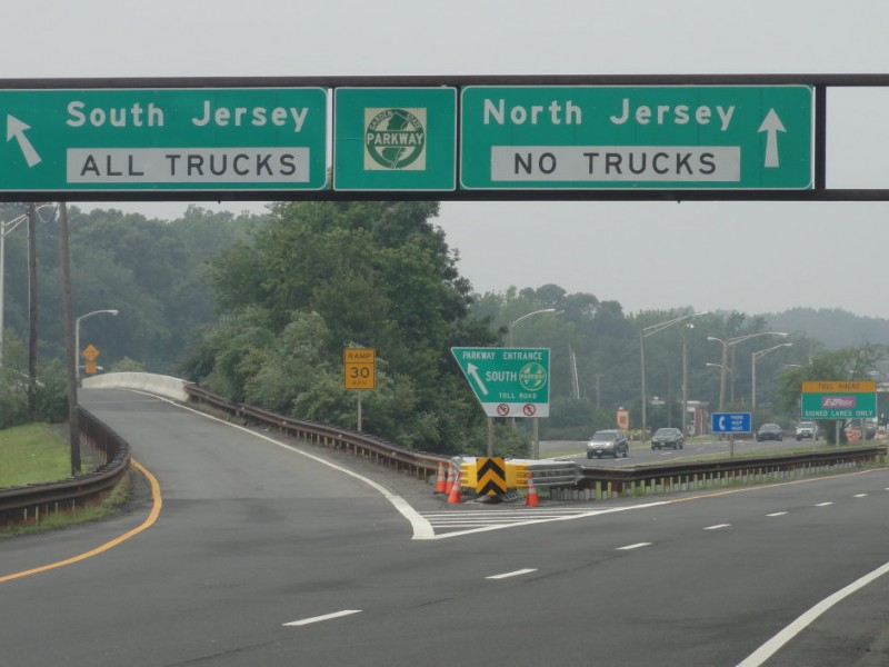 Garden State Parkway Closing From Exit 129 To Southern