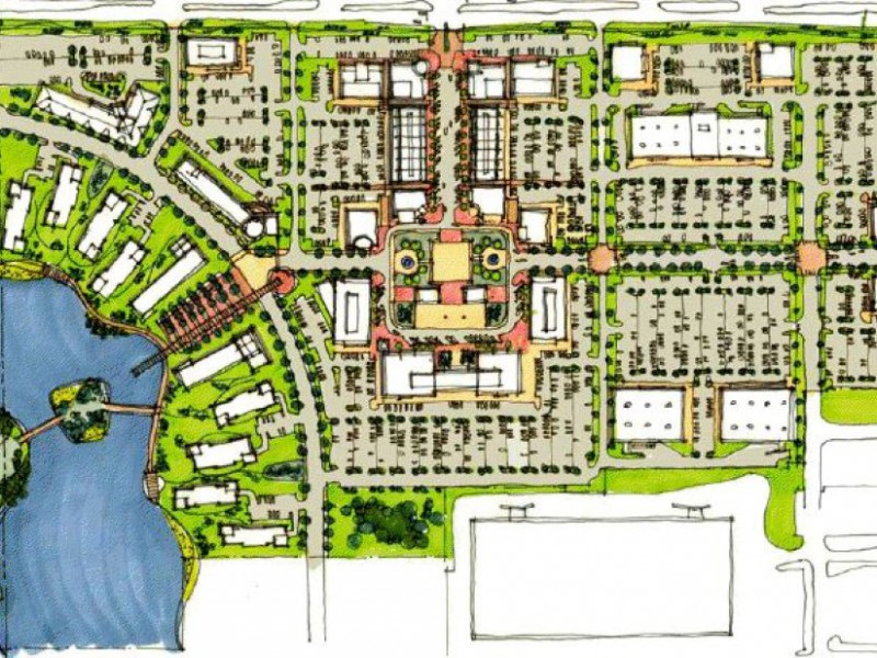 Town Planner Calendar Green Bay Wi : A closer look at the drexel town square plans oak creek