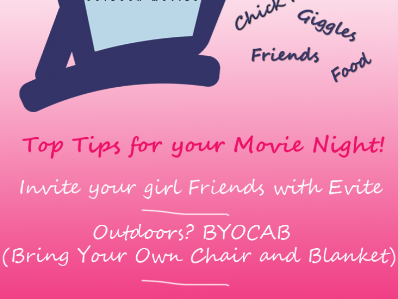 Girls Movie Night Girls Night Out Movie Night