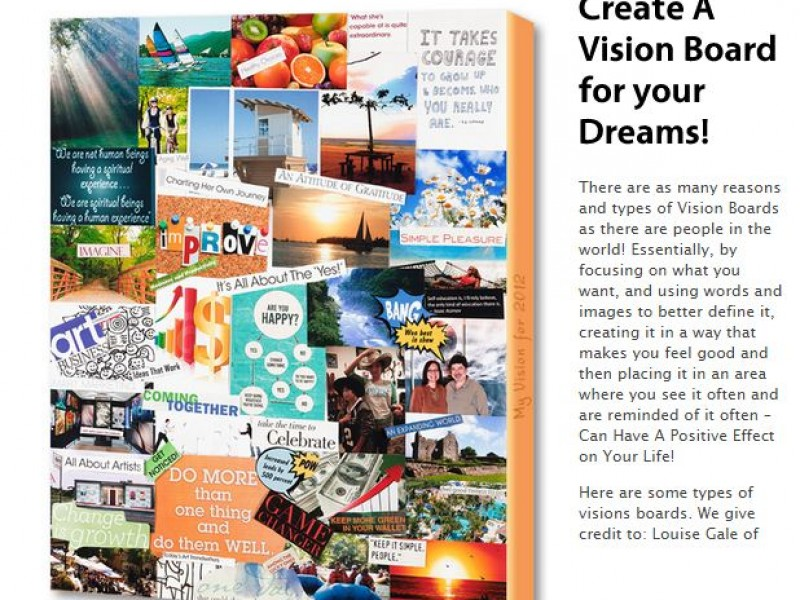 Vision Board Event - Clearwater, FL Patch |Events Vision Board