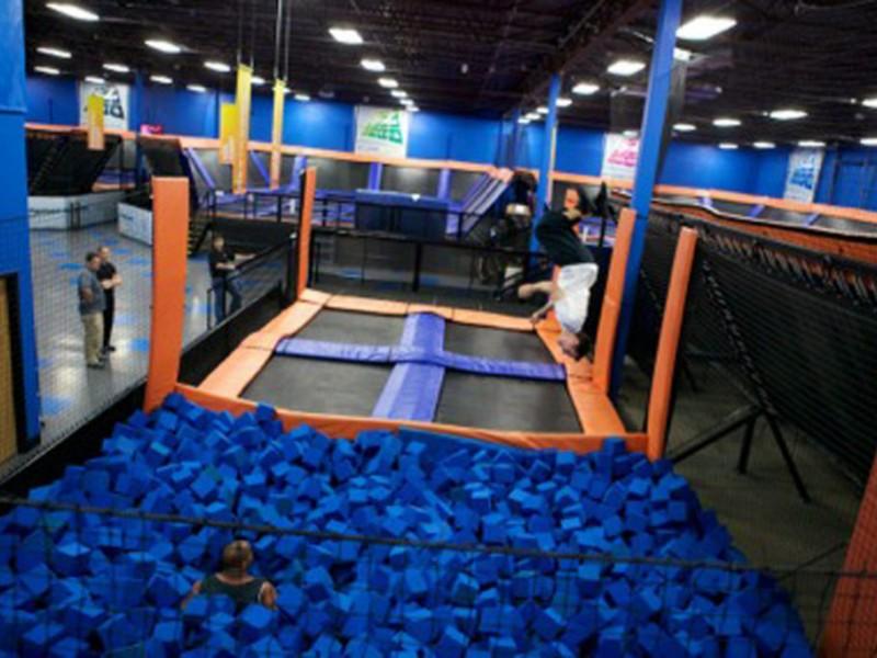 Sky Zone Indoor Trampoline Park Opens In Torrance