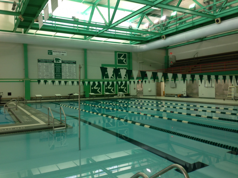 Wildcat sport fitness open to mayfield hillcrest area residents mayfield oh patch for Cleveland high school swimming pool