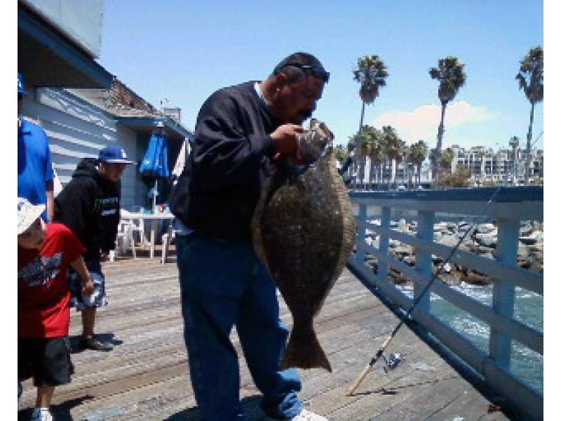 Bass Biting Off Redondo Catalina Patch
