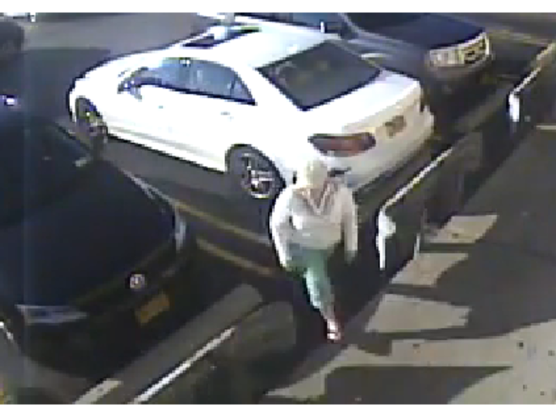 Watch police looking for woman caught on camera keying for Massapequa mercedes benz pre owned