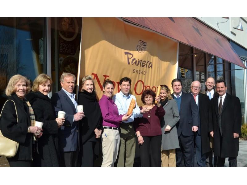 panera bread opens in garden city patch