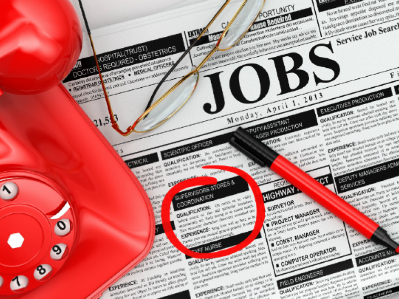 Here are the newest jobs openings posted on the patch jobs board