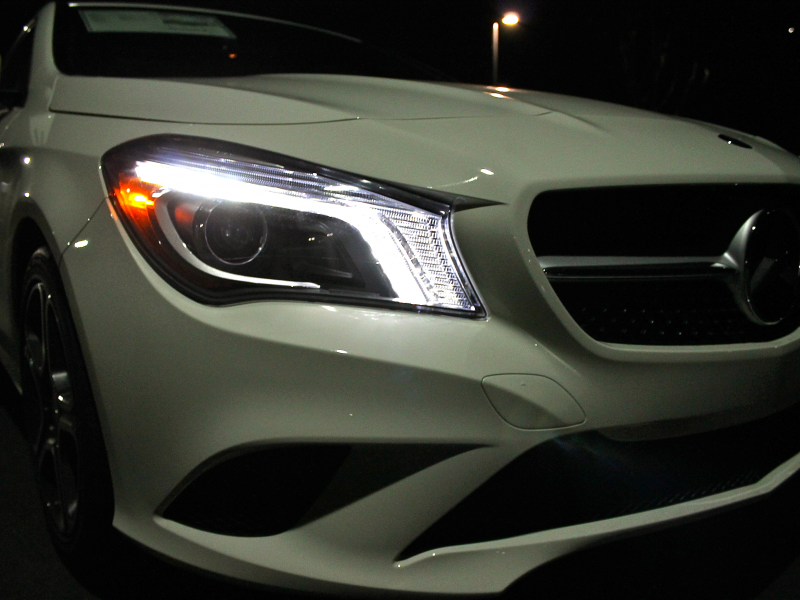 Mercedes benz cla 250 the best looking sedan coupe for Looking for used mercedes benz