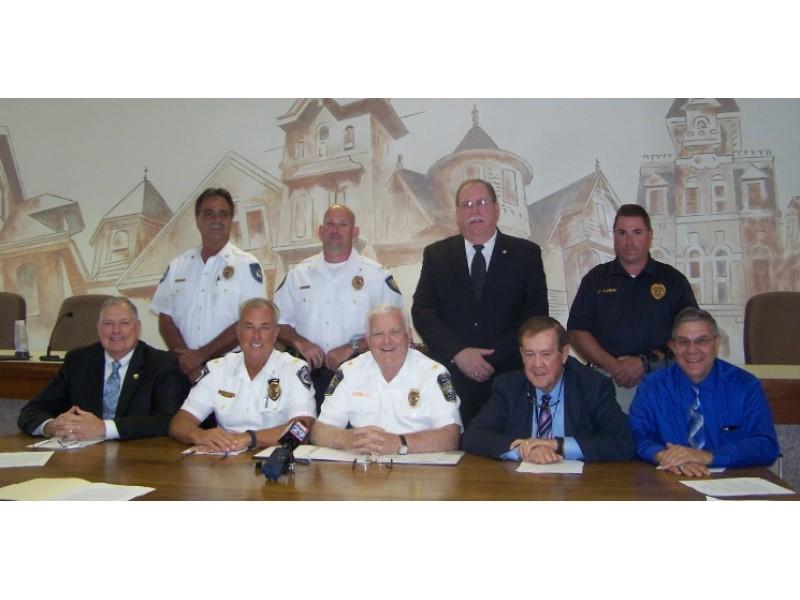 Nine bucks county law enforcement agencies led by the central bucks