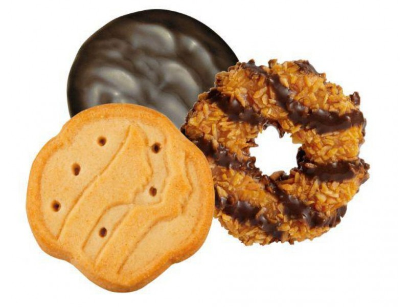 girl scout cookies now available online patch