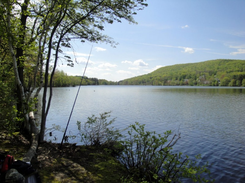 Swimming holes fishing holes and boats big and small for Fishing lakes in nj