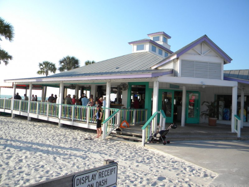 Clearwater Beach Florida Palm Pavilion