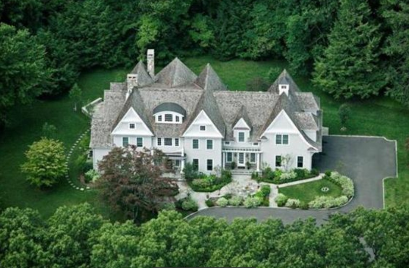 Three story west hills rd home other new canaan homes for Three story house for sale